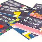 Karten zur Einschulung